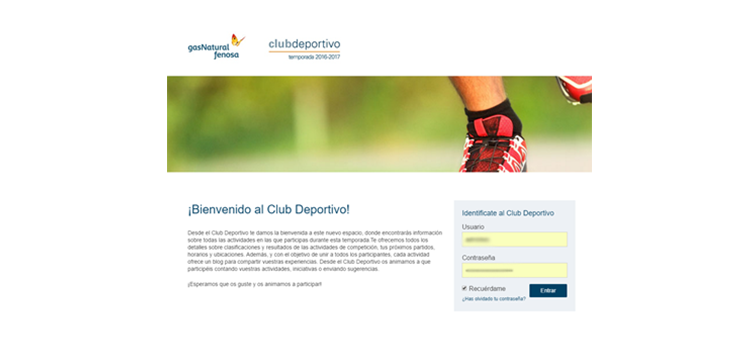 Successful digital products: Gas Natural Fenosa Sports Club
