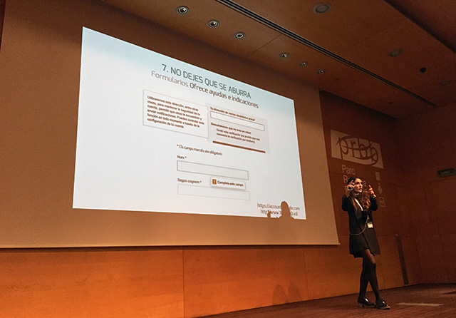 Lorena Salagre champions user experience